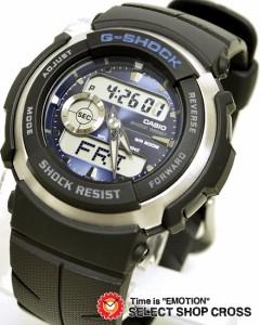 CASIO カシオ G-SHOCK Gショック メンズ腕時計 海外モデル G-300-2AVDR ブルー