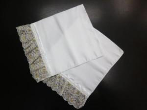 簡単取付け袖口レース白台白レース 振袖成人式&着物&浴衣に