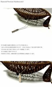 "【EVE】送料無料""イヴダイヤモンドネックレス/ピンクゴールド/ステンレスアクセサリー/プレゼント/gpsd72rg/aut_la"
