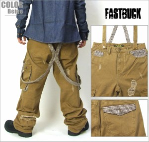 FAST BUCK/ファストバック カーゴパンツ メンズ/B系/ヒップホップ/ストリート/ファッション/HIPHOP/ワーク/ミリタリー