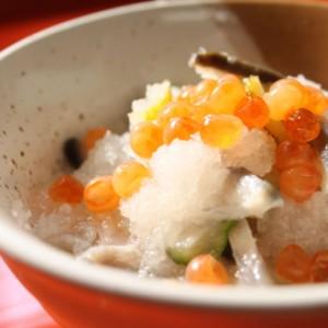 コリコリ食感コラーゲン豊富【鮭の氷頭なます】(300g)/サケ/美容/郷土