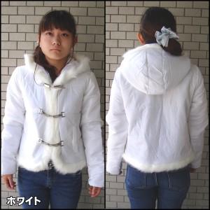 レディース 服 セール  激安!セール980円 レディース ファー付きジャケット ジャンパー ブルゾン