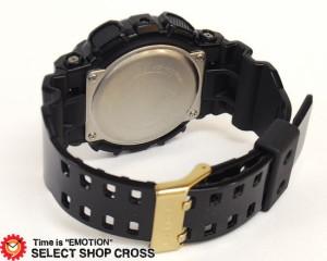 カシオ Gショック CASIO G-SHOCK GA-110GB-1ADR Black×Gold Series 腕時計 海外モデル ブラック×ゴールド 黒×金
