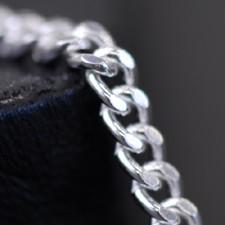 【50%OFF】 シルバーチェーン ネックレス 【喜平 CD50 幅1.7mm 長さ40cm】 シルバー925