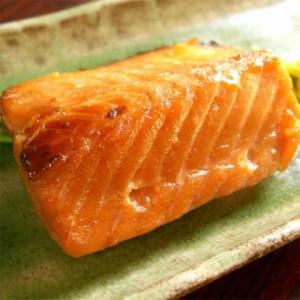 鮭の味噌漬(2切パック)/サケ/さけ/みそ漬/切身/ご飯のおかず/焼魚/切り身/