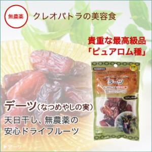 葉酸たっぷり!【デーツ】なつめやしの実 ドライフルーツ(120g)
