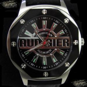 【20%OFF】Christian Audigier クリスチャン オードジェー 腕時計 時計 SWI-655 メンズ/ブラック