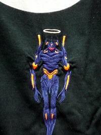 エヴァンゲリオンX錦コラボ Mark.06降臨 長袖Tシャツ