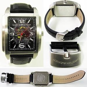 【20%OFF】Christian Audigier クリスチャン オードジェー 腕時計 時計 SWI-626 メンズ/ブラック