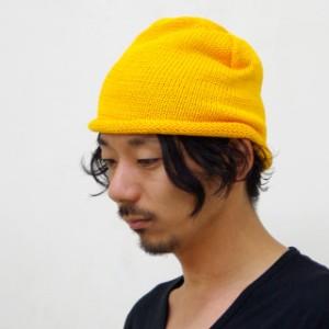 セール/2個1000円引き/[メール便]NEW YORK HAT (ニューヨークハット) 帽子 4466 コットンロールビーニー/ニット帽ワッチ newy0015