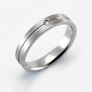 【ペア価格:結婚指輪】プラチナ900 マリッジリング ペアリング(W)