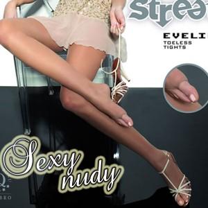 SEXY★ヌーディなつま先でサンダルもOK【2サイズ】素足が綺麗に見える♪インポートストッキング【メール便対応】大きいサイズ