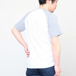 [メール便]メンズラグランTシャツ ゆうメール ※ラッピング不可 disp0332 激安