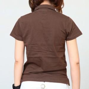 [メール便]レディース無地ポロシャツ  disp0535特価人気
