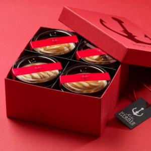 香ばしいキャラメルにうっとり♪神戸キャラメルレアチーズケーキ4個入/ギフト/プレゼント/内祝い/お祝い/母の日