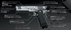 【遠州屋】 Hi-CAPA Custom (4.3) ハイキャパ カスタム デュアルステンレス 東京マルイ (市/R)★