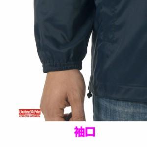 アメカジの基準☆ナイロンコーチジャケット(ライニング付)(S〜XL) /ユナイテッドアスレ UNITED ATHLE #7059-01 oute
