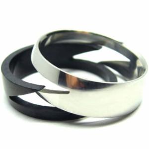 サイズ数不足★わけありSALE ステンレスリング  サンダーマトリックスリング 指輪
