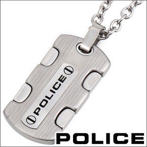 ポリス ネックレス ペンダント メンズ POLICE COMMANDO 24657PSS01
