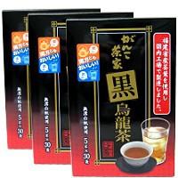 黒烏龍茶  5gx30袋 x 3箱 【ウーロン茶/中国福建省/がんこ茶家 】
