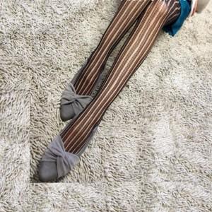 【即納】スーパー美脚 細く見えるライン柄 セクシーストッキング (デザイン柄 sexy網タイツ)