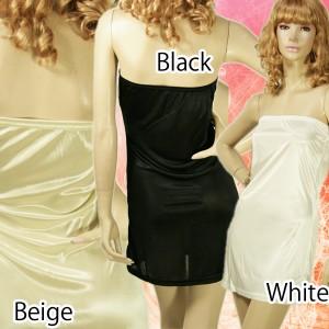 【ドレスとワンピの必需品】ロングインナー★ロングスカートにも使える♪ペチコート♪メール便OK