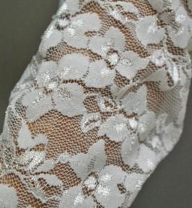 【グローブ☆手袋】総レース♪華やかハンド[メール便OK]ドレスワンピを華やかに♪ロンググローブ