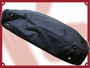 和装着物きもの(和洋兼用&男性女性兼用)キルトバッグ黒