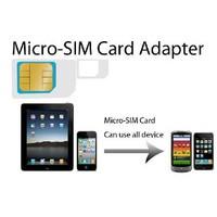 [送料無料][海外][2枚セット]MicroSIM→SIMカード変換マイクロSIMカードを通常SIMカードに変換[納期:約2-3週間]