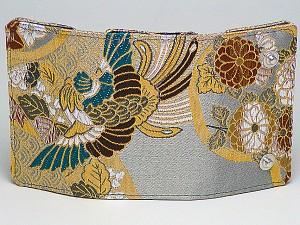 高級金襴生地の和柄金襴キーケース(色150)