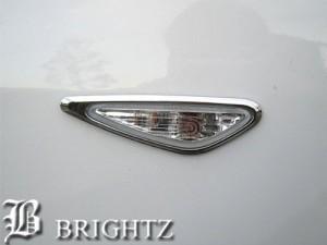 BRIGHTZ アテンザスポーツワゴン GH5AW GH5FW GHEFW クロームメッキサイドウィンカーリング SID−RIN−037