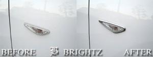 BRIGHTZ アテンザスポーツワゴン GH5AW GH5FW GHEFW クロームメッキサイドウィンカーリング 【 SID-RIN-037 】
