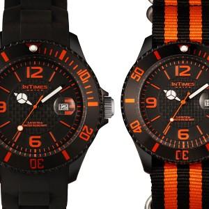 INTIMES(インタイムス)シチズン製ムーブ搭載!44mm シリコン ダイバー メンズ/レディース 腕時計 IT057S/N