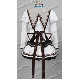 DK1205 ★ましろ色シンフォニー ◆ 瀬名愛理 私立結姫女子学園制服   風    コスプレ衣装   完全オーダメイドも対応可能