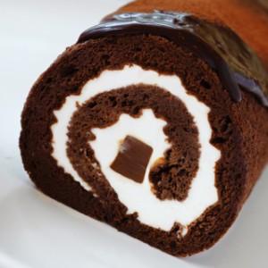 生チョコ入りのロールケーキ。神戸生チョコ巻(ロール)・プレーン/ギフト/プレゼント/内祝い/お祝い/ホワイトデー