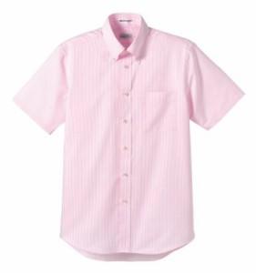 イタリアンストライプ◎  【シャツ】 スタンダード 半袖  メンズ