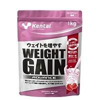 ウエイトゲイン アドバンス ストロベリー風味 1kg 【Kentai(ケンタイ)/健康体力研究所】