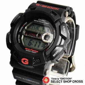 CASIO カシオ G-SHOCK Gショック メンズ 腕時計 GULFMAN マスターオブG 海外モデル G-9100-1DR ブラック 黒