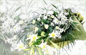 【お供え 花】花束2 お悔み お盆 お彼岸