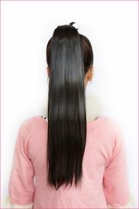 ポニーテール ストレート ポイントウィッグ pt101【ハーフウィッグ 激安 つけ毛 部分ウィッグ】