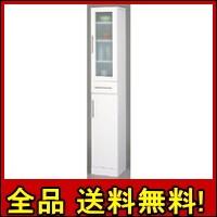 【送料無料!ポイント2%】すきま収納としても便利な30cm幅カトレア食器棚30-180