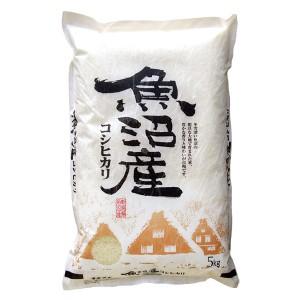 【送料無料】魚沼産コシヒカリ 5kg<5kg×1袋 白米 お米 ギフト 贈り物 新潟 28年>