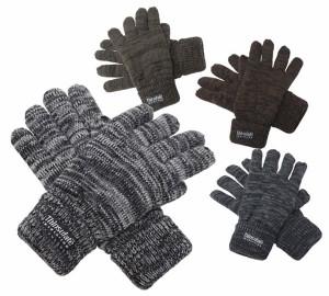 手袋/メンズ/紳士ニット手袋◆ミックス柄