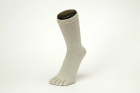 杉山ニット工業 EMソックス シルク メンズソックス 5本指 日本製 くつした くつ下 靴下 EM0191