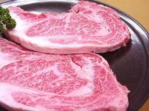 九州産 黒毛和牛★極上霜降りロースステーキ[約200g・2枚]とろける旨み♪【送料無料*一部地域を除く】<ご贈答・お中元>