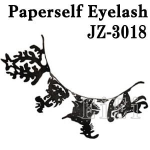 JZ-3018 アートペーパーラッシュ,つけまつげ,プロ用,紙のつけまつ毛,新感覚のアイラッシュ ハロウィン