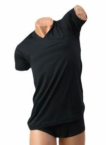 GF924 BVD GOLD天竺編み Vネック半袖Tシャツ LL