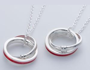 ペアネックレス カップル お揃い送料無料  人気ブランド LOVE of DESTINY  運命の赤い糸 lod-018m018l/25,920円