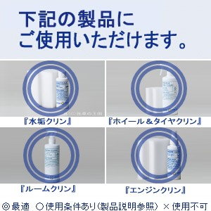 汚れ落とし 強化添加剤 5ml 3個組/クリーナーの洗浄力がアップ! 混ぜるだけ!4つの製品に使えて、車まるごとクリーニング!