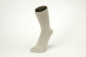 杉山ニット工業 EMソックス シルク レディースソックス 5本指 日本製 くつした くつ下 靴下 EM0291